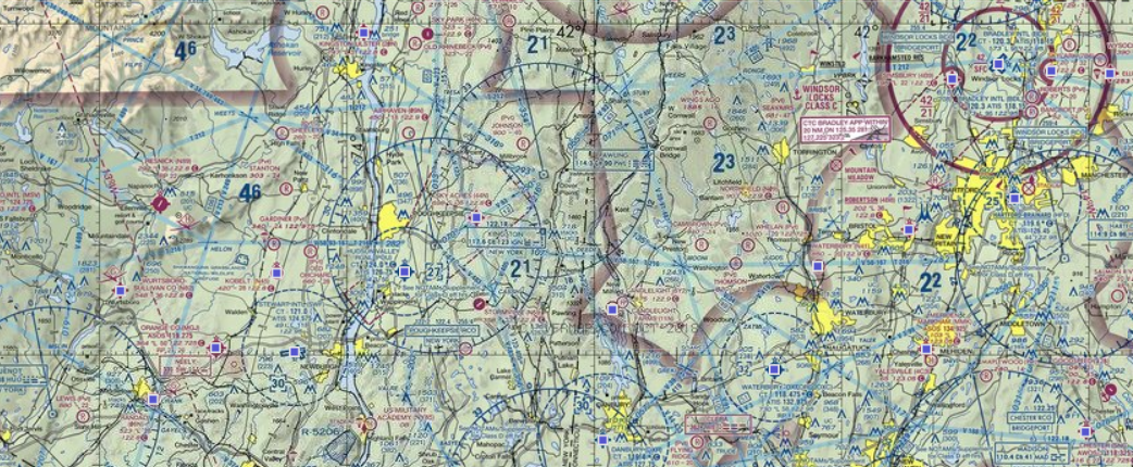 aviation sectional map